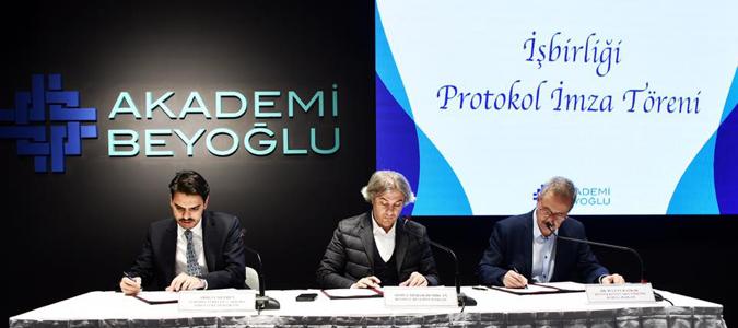 Akademi Beyoğlu'ndan Uluslararası İşbirliği