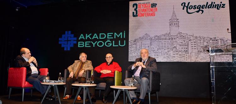 Levantenler Akademi Beyoğlu'nda Buluştu