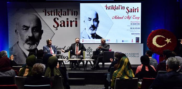 """Beyoğlu'nda """"İstiklal'in Şairi Mehmet Akif Ersoy"""" Paneli Düzenlendi"""