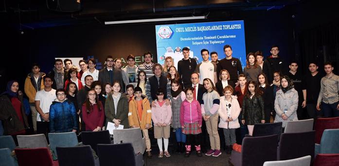 Okul Başkanları Akademi Beyoğlu'nda Buluştu