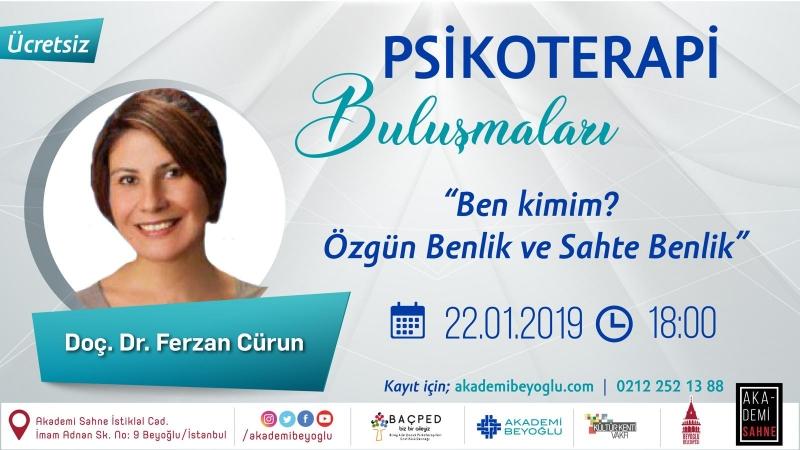 Psikoterapi Buluşmaları Akademi Beyoğlu'nda