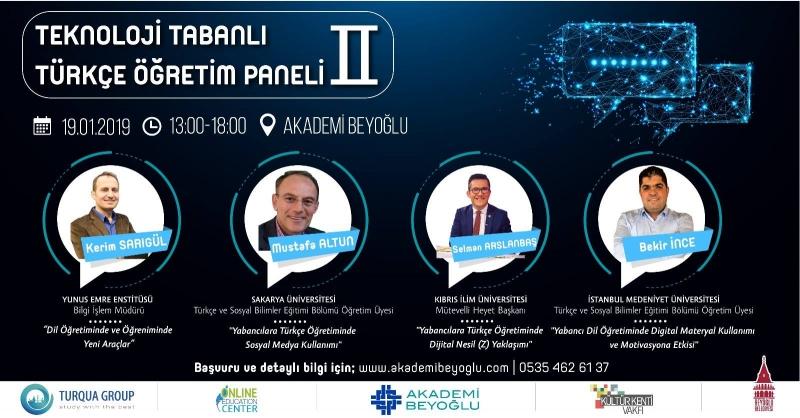 Teknoloji Tabanlı Türkçe Öğretim Paneli