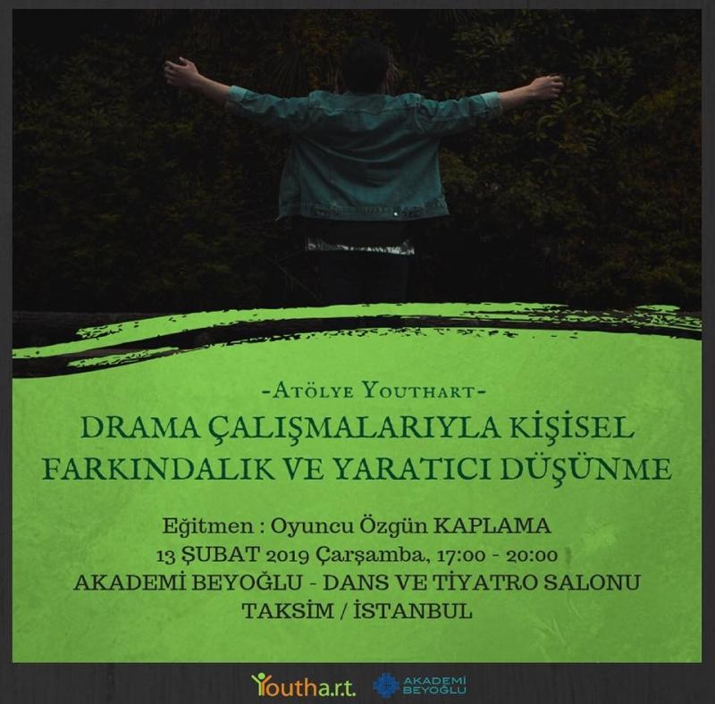 Drama Çalışmalarıyla Kişisel Farkındalık ve Yaratıcı Düşünme Atölyesi