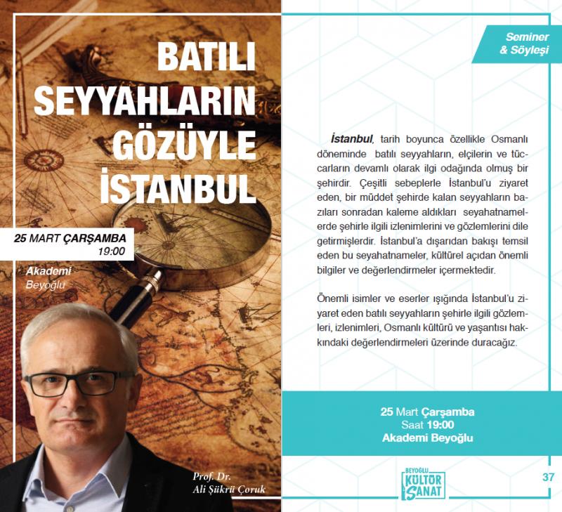 Batılı Seyyahların Gözüyle İstanbul