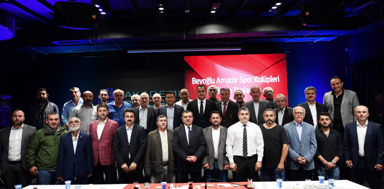 Beyoğlu'nda Amatör Spor Kulüplerine Tam Destek